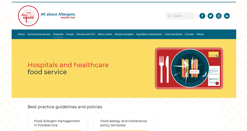 All about Allergens Resource Hub